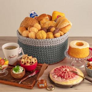 Cesta Café da Manhã Tradicional