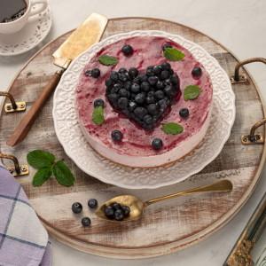 Cheesecake de Mirtilo +-1kg