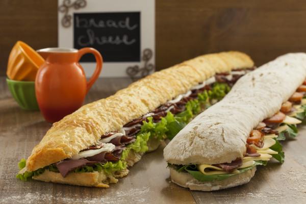 Sanduiche Slim 75cm (vegetariano)