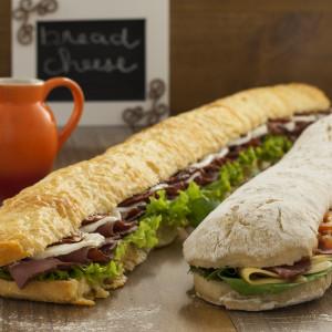 Sanduíche Ervas Finas 75cm (vegetariano)